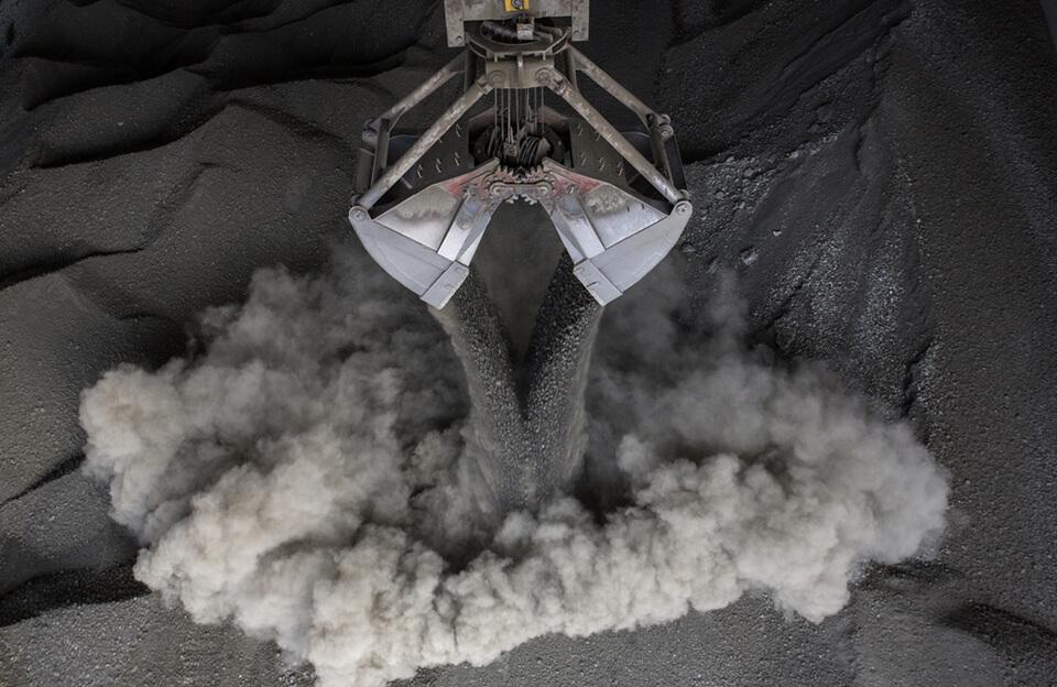 Каменноугольная пыль, сажа и деготь