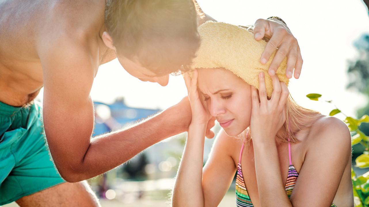 Тепловой удар: правила для взрослых и детей