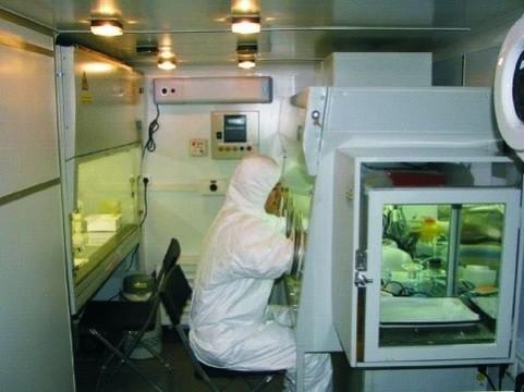 Российскую вакцину против лихорадки Эбола [не будут тестировать в Гвинее]