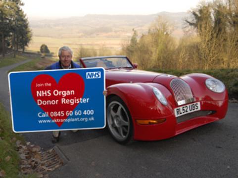 Британских водителей попросят [записаться в доноры органов]