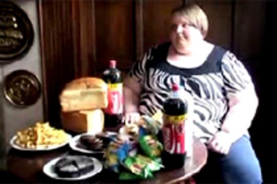 [Самую толстую девочку Великобритании] будут лечить в США