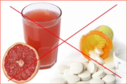 Фруктовые соки [нарушают всасывание лекарств]