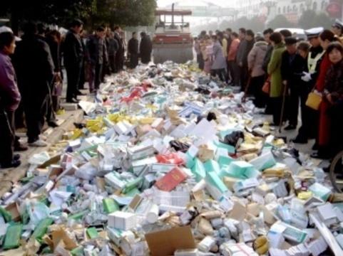 В Китае [ликвидировано 1,8 тысячи нелегальных фармпредприятий]