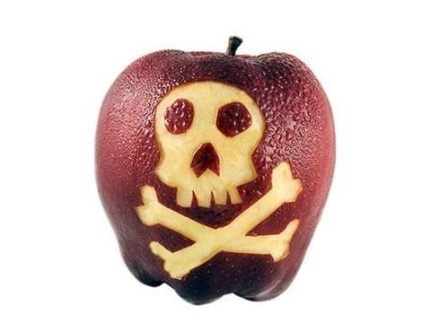 Ученые попытались отмыть яблоки от пестицидов. Это оказалось непросто