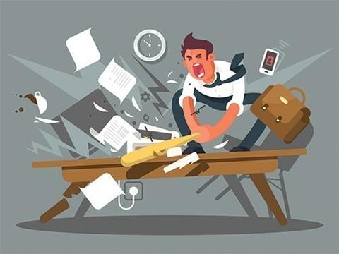 Работа - частая причина депрессии и тревожности. Ученые считают это беспокойным сигналом