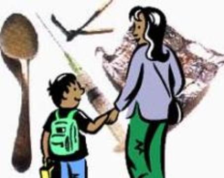 Около 5 процентов британских детей живут в семьях наркоманов