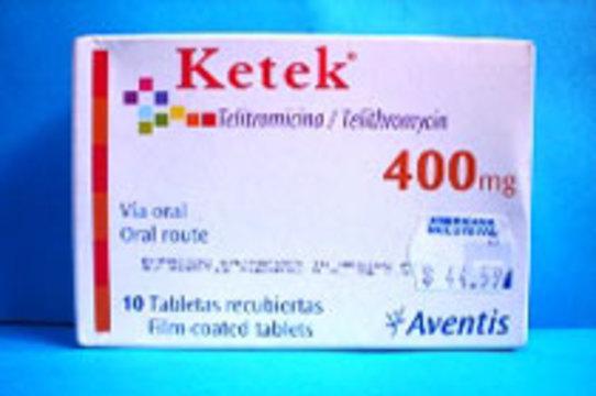 В США остановлены [масштабные клинические испытания антибиотика Ketek]