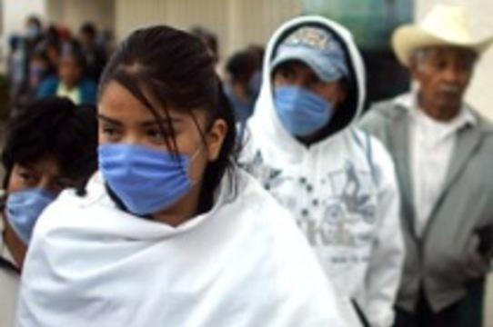 Количество заразившихся гриппом H1N1 [приблизилось к девяти тысячам]