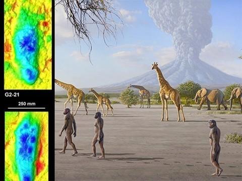 Изучены следы человеческих предков, оставленные более трех миллионов лет назад