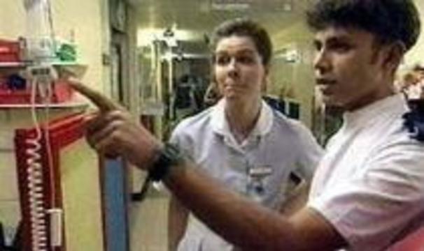 Британских пациентов будут лечить испанские медсестры