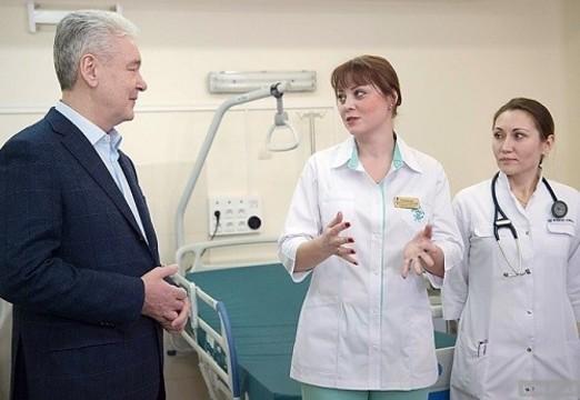В мэрии Москвы сообщили об увольнении главврачей пяти поликлиник