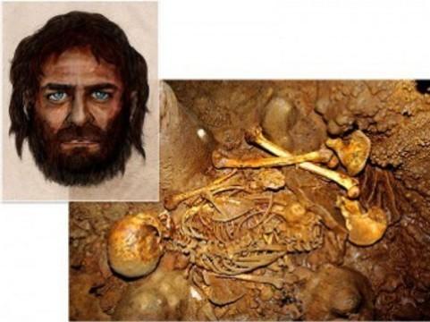 Генетики обнаружили у древних европейцев [темную кожу и голубые глаза]