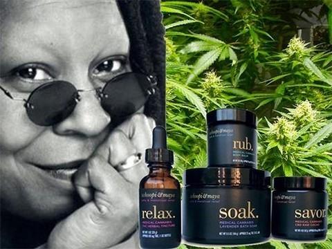 Медицинская марихуана от Вупи Голдберг спасет от менструальных болей
