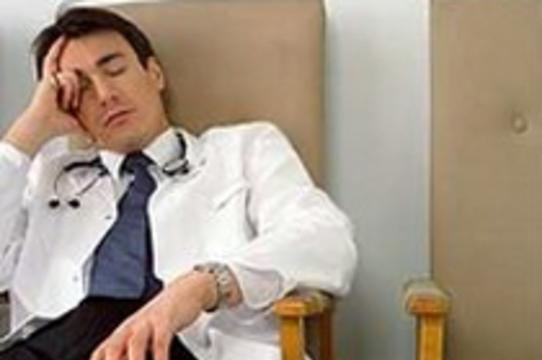 Американские врачи [устали от работы]