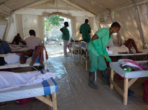 Число умерших от холеры на Гаити [превысило 2 тысячи]