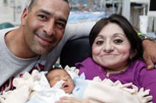 Весящая 17 кг американка родила здорового ребенка