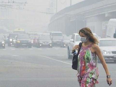 Медики не зафиксировали роста обращений [в связи с загрязнением воздуха в Москве]