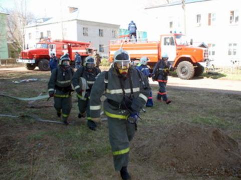 Пожар в оренбургском онкодиспансере [ликвидирован]
