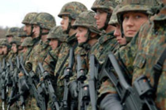 [Немецкие солдаты] страдают избыточным весом и много курят