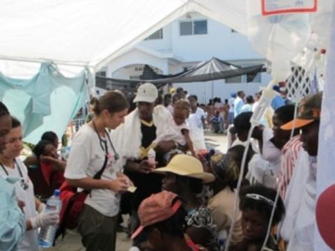 Число умерших от холеры на Гаити [превысило 500 человек]