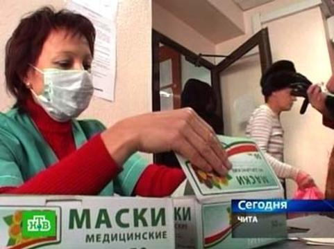 """В Забайкалье будут штрафовать [за отказ от """"масочного режима""""]"""