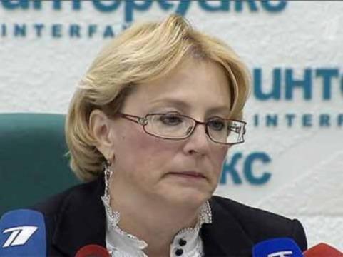 Скворцова пообещала медикам к 2018 году среднюю зарплату [в 90 тысяч рублей]
