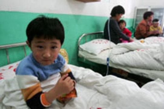 В Китае энтеровирусом [заразились более 4,5 тысяч детей]