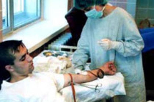 Восемь из десяти жителей планеты не могут получить [безопасную донорскую кровь]