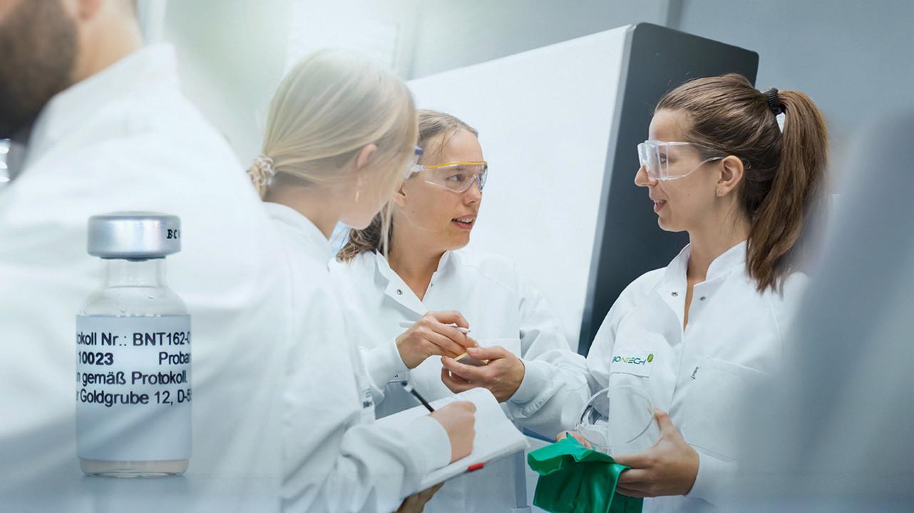 Pfizer и BioNTech подали заявку на разрешение продажи вакцины от COVID-10 в Европе