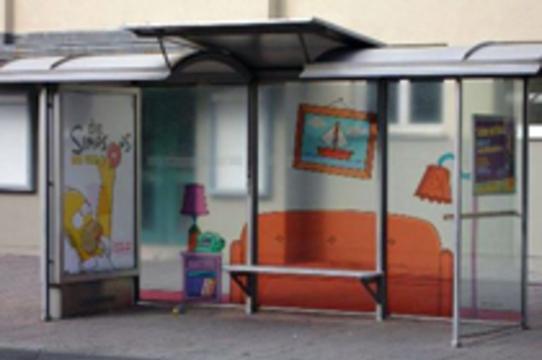 Немецкие дома престарелых удерживают пациентов с помощью [фальшивых автобусных остановок]
