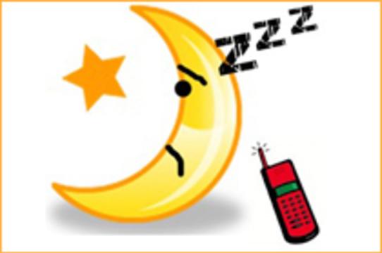 Мобильные телефоны [мешают нормальному сну]