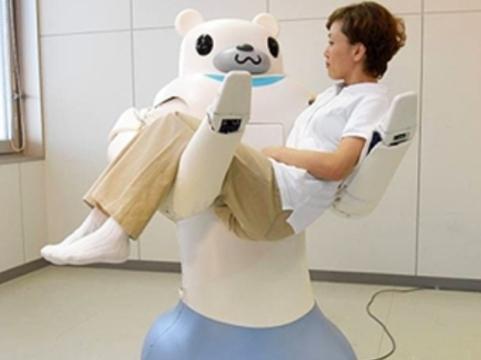Японский робот-сиделка [будет носить пациентов на руках]