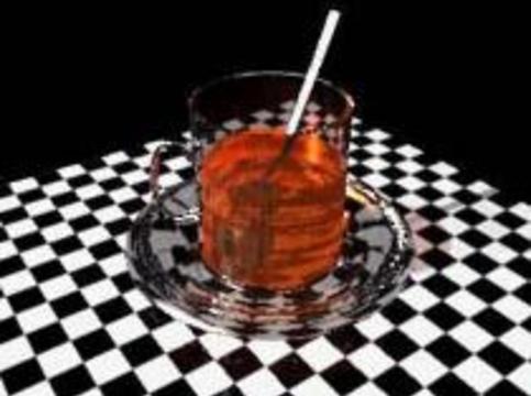 Чай укрепляет зубы