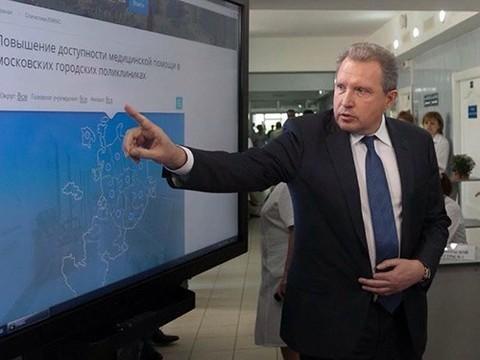 Глава ДЗМ Алексей Хрипун дал интервью для медицинской группы в «Фейсбуке»