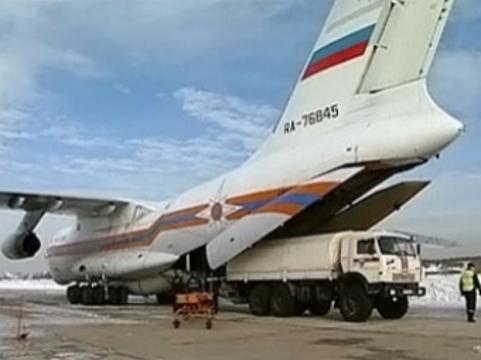 Российского младенца [эвакуируют из Минска самолетом Ил-76]