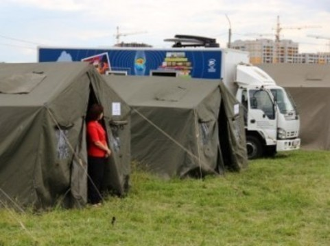 Около трех тысяч украинских беженцев [обратились к российским врачам]