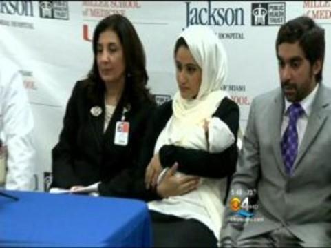 Пять донорских органов не помешали гражданке Катара [стать матерью]