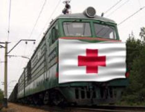На железных дорогах России появятся медицинские поезда