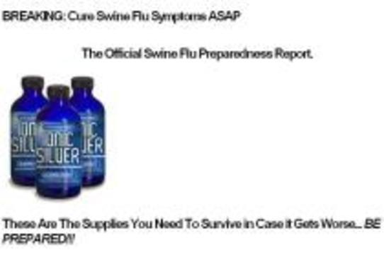 FDA начало борьбу с наживающимися на свином гриппе [мошенниками]