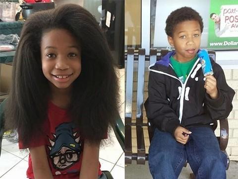 Мальчик растил волосы, чтобы из них сделали парики для онкобольных детей