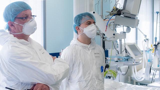Минздрав: в России занято около 90% коечного фонда для пациентов с COVID-19