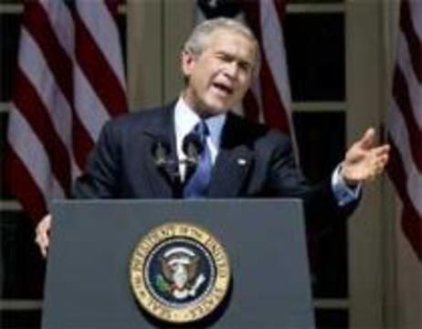 Джордж Буш развернул борьбу против птичьего гриппа