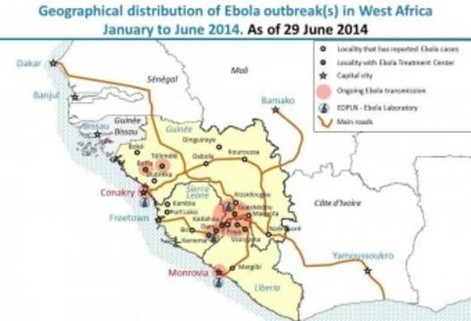 Россиянам не советуют [проводить отпуск в Африке из-за лихорадки Эбола]