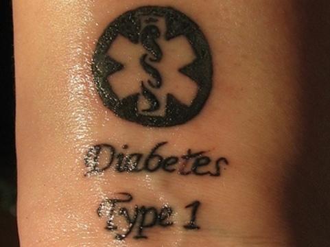 Светящаяся татуировка [поможет диабетикам контролировать сахар крови]