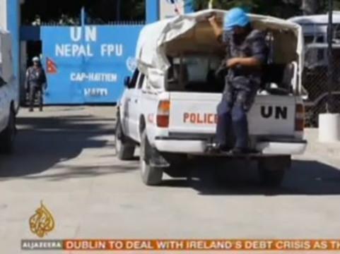 Армия Непала открестилась от [холеры на Гаити]