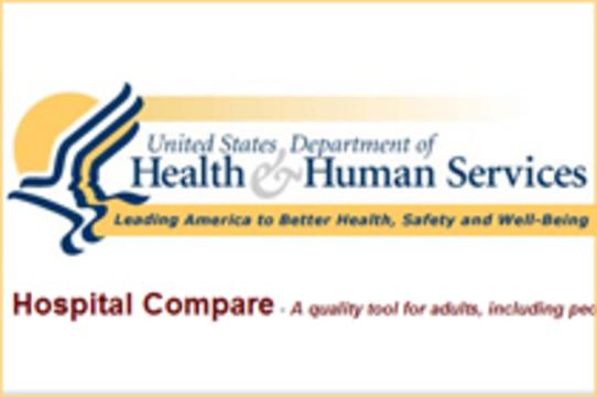 Показатели смертности в больницах США [разместили на государственном сайте]