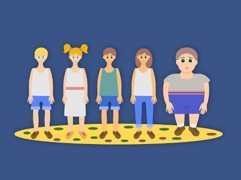 Полных детей нельзя ограничивать в пище