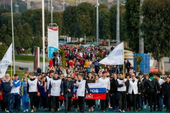 Седьмого апреля россияне пройдут 10000 шагов