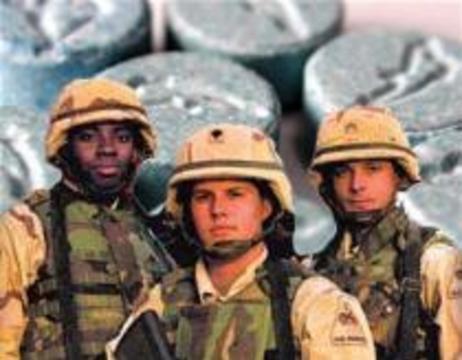 Американским солдатам для снятия стресса пропишут экстази