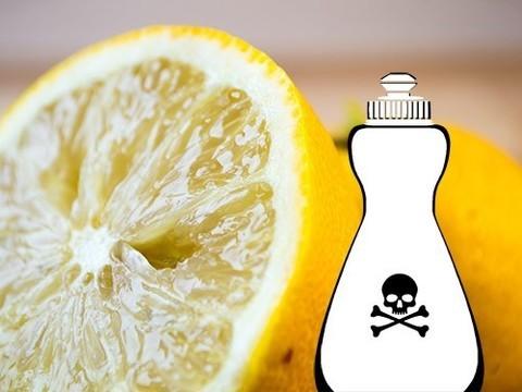 Лимон и отбеливатель - опасное сочетание